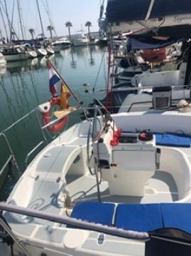Location bateau Hunter LEGEND 29.5 à Sitges sur Samboat