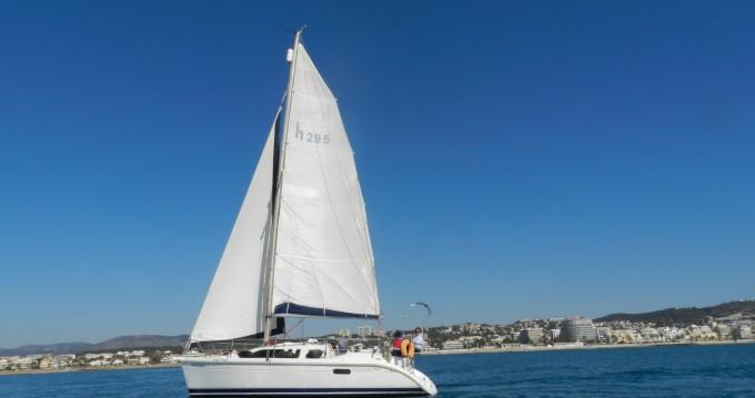 Location yacht à Sitges - Hunter LEGEND 29.5 sur SamBoat