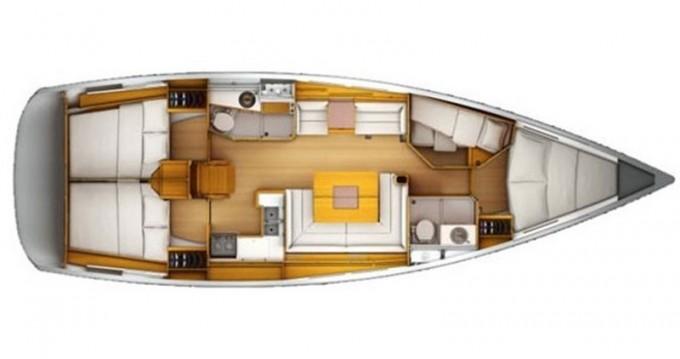Location bateau Salerno pas cher Sun Odyssey 439