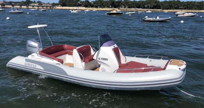 Location Semi-rigide Grand Boats avec permis