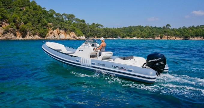 Location bateau Hyères pas cher Lomac 790 IN