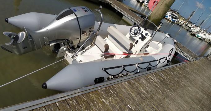 Location bateau Étaples pas cher Sunrider 650 Gris