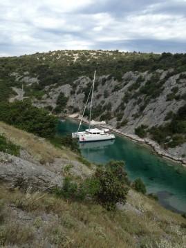 Location bateau Murter pas cher Lagoon 450