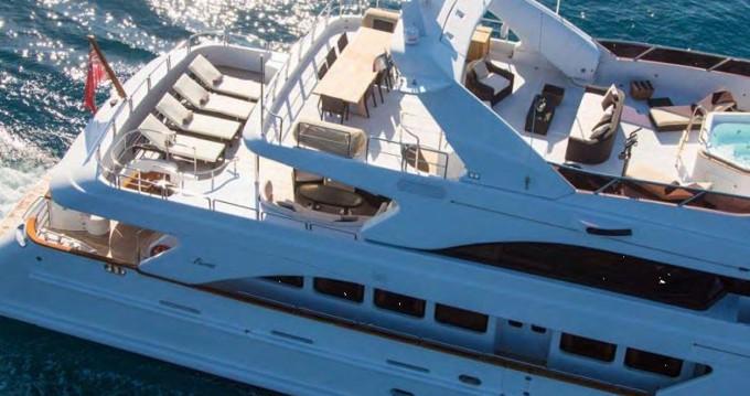 Location bateau Mandelieu-la-Napoule pas cher Benetti 115