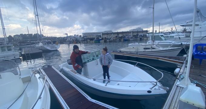 Louer Bateau à moteur avec ou sans skipper Jeanneau à Saint-Quay-Portrieux