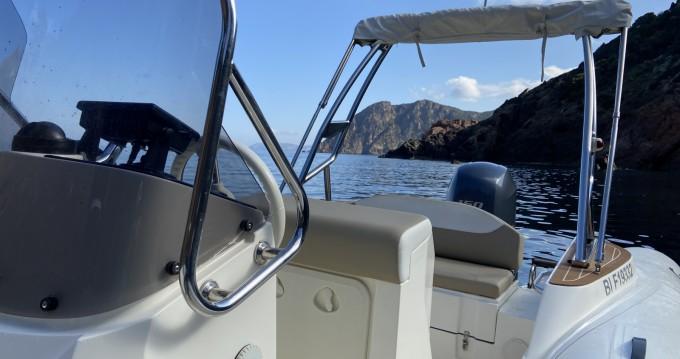 Location bateau Capelli Tempest 650 à Galéria sur Samboat