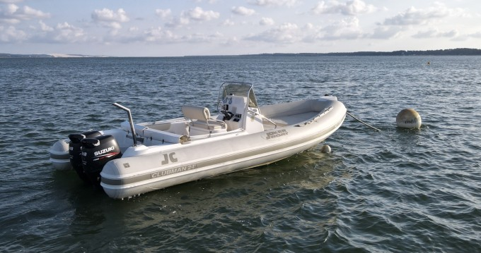 Location Semi-rigide à Grand Piquey - Joker Boat Clubman 24