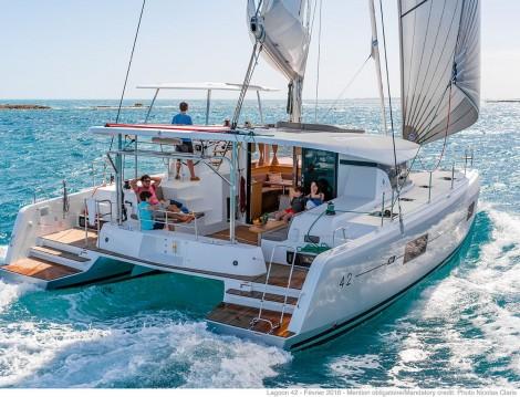 Location bateau Saint Vincent et les Grenadines pas cher Lagoon 42