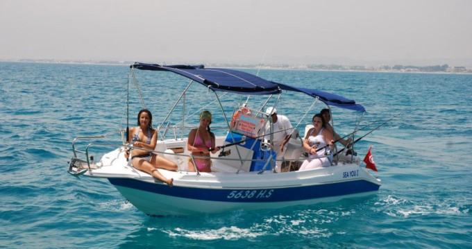 Louer Bateau à moteur avec ou sans skipper Yamaha à Hammamet