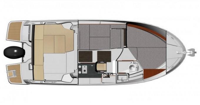 Location yacht à Kaštel Gomilica - Jeanneau Jeanneau Merry Fisher 795 sur SamBoat
