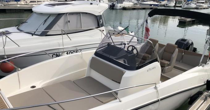 Louer Bateau à moteur avec ou sans skipper Quicksilver à Courseulles-sur-Mer