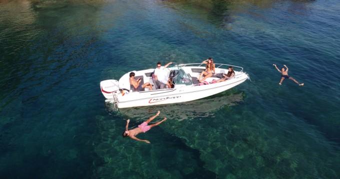 Location bateau Roses pas cher Enduro 605