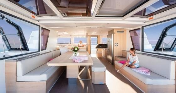 Louer Catamaran avec ou sans skipper Catana à Anse Marcel