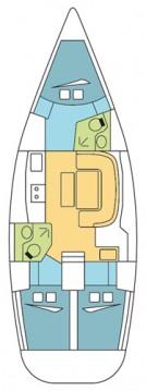 Location bateau Dufour Dufour 385 GL à Anse Marcel sur Samboat