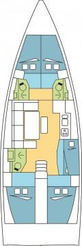 Location yacht à Anse Marcel - Dufour Dufour 460 Grand Large sur SamBoat