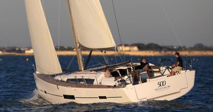 Location bateau Dufour Dufour 500 GL - 5 cab. à Anse Marcel sur Samboat