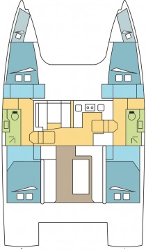 Location yacht à Anse Marcel - Nautitech Nautitech 40 sur SamBoat