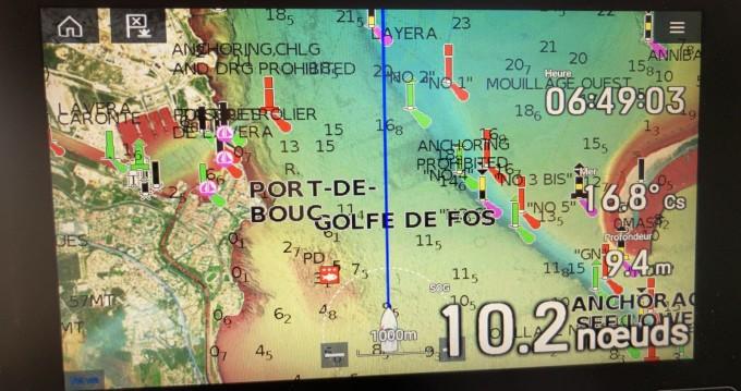 Location bateau Fos-sur-Mer pas cher Mistral