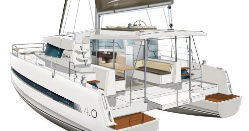 Location Catamaran à Placencia - Catana Bali 4.0 - 4 + 2 cab.