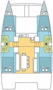 Location bateau Placencia pas cher Bali 4.0 - 4 + 2 cab.