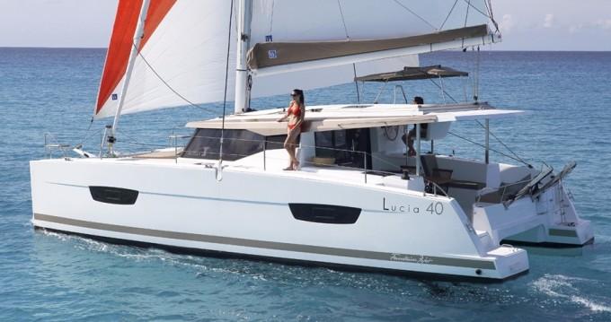 Location Catamaran à Bas du Fort - Fountaine Pajot Lucia 40