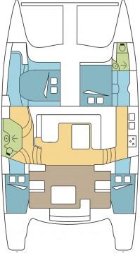Location Catamaran à Airlie Beach - Seawind Catamarans Seawind 1260