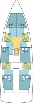 Location yacht à Anse Marcel - Jeanneau Sun Loft 47 - 6 + 1 cab. sur SamBoat