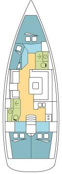 Location yacht à Pomer - Jeanneau Sun Odyssey 449 sur SamBoat