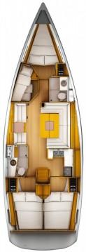 Location bateau Ajaccio pas cher Sun Odyssey 449
