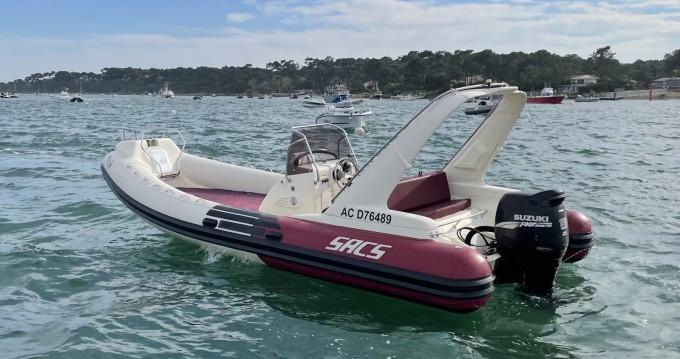 Location bateau Lège-Cap-Ferret pas cher Sacs S 680 Ghost
