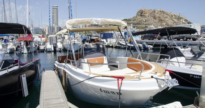 Location bateau Allegra Boats 21 open à Alicante sur Samboat