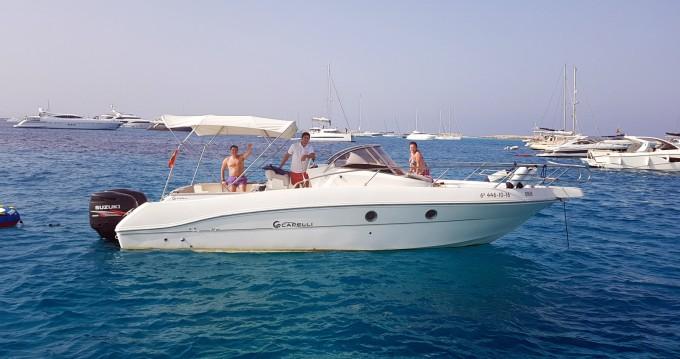 Location bateau Île d'Ibiza pas cher Cap 32 WA