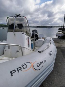 Zodiac Pro 550 Open entre particuliers et professionnel à Brest