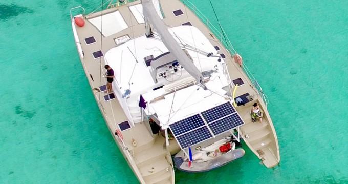 Louer Catamaran avec ou sans skipper VISAGE à Pointe-à-Pitre