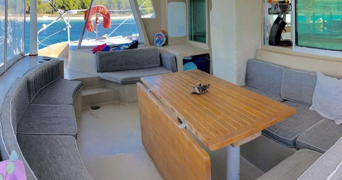 Location Catamaran VISAGE avec permis