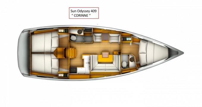 Location Voilier à Gouviá - Jeanneau Sun Odyssey 409