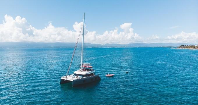 Location Catamaran à Le Marin - Sun Reef Sunreef 50