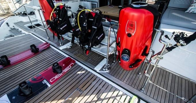 Louer Catamaran avec ou sans skipper Sun Reef à Le Marin