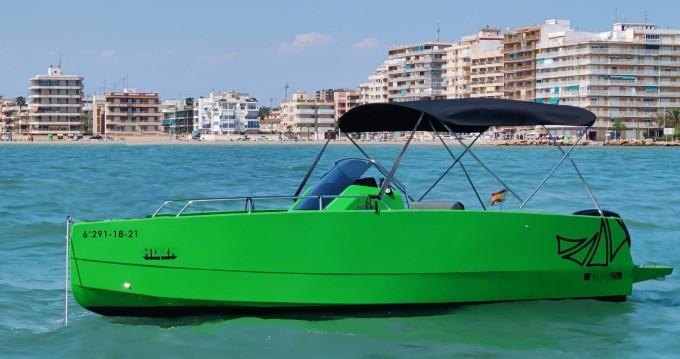 Location bateau Santa Pola pas cher Nuva M6 Open