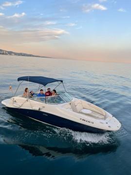 Location bateau Puerto Deportivo de Marbella pas cher Sea Ray 260 SD Blue