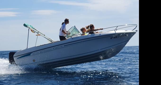 Location bateau l'Estartit pas cher Cap Camarat 625