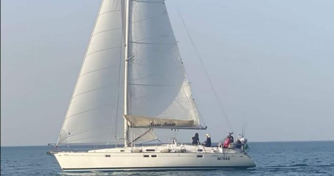 Bénéteau Oceanis 461 entre particuliers et professionnel à Balestrate
