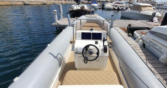 Location bateau Bwa Seven Fifty à Alicante sur Samboat