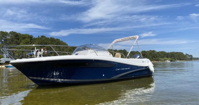 Location bateau Cazaux pas cher Cap Camarat 7.5 WA