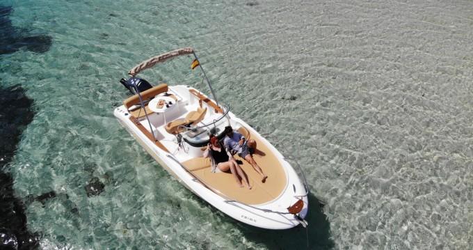 Location bateau Sessa Marine Key Largo 20 à Île d'Ibiza sur Samboat