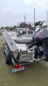 Louer Bateau à moteur avec ou sans skipper Silver à Dinard