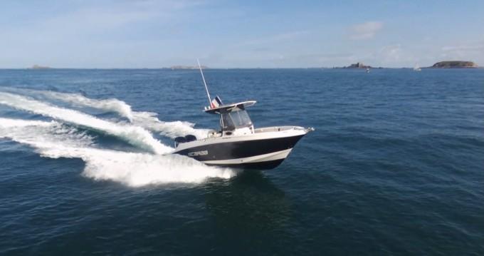 Location bateau Wellcraft Fisherman 252 à Dinard sur Samboat