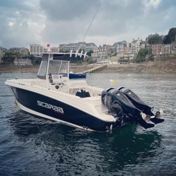 Location Bateau à moteur à Dinard - Wellcraft Fisherman 252