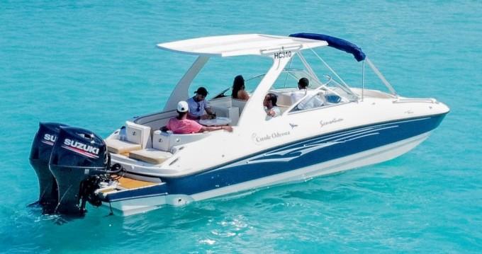 Louer Bateau à moteur avec ou sans skipper Sensation à Eden Island