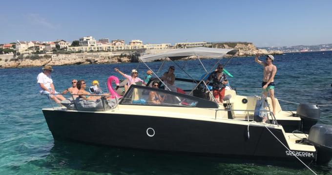Louer Bateau à moteur avec ou sans skipper Wasabi  à Marseille